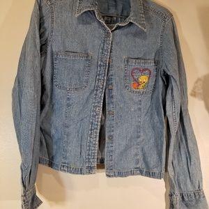 WB. size 8 Tweety bird shirt